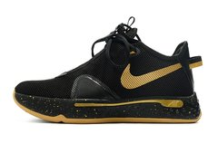 Tênis Nike PG 4 Black Metallic Gold