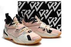 Tênis Air Jordan Why Not Zer0.3 Washed Coral na internet