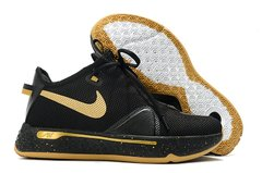 Tênis Nike PG 4 Black Metallic Gold - Rocha Madrid Sports
