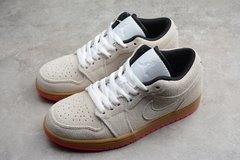 Tênis Air Jordan 1 Low White-Gym Yellow-Hyper Pink - loja online