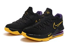 Tênis Nike LeBron 17 Low Black Yellow Purple - Rocha Madrid Sports