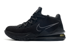 Tênis Nike LeBron 17 Low Triple Black