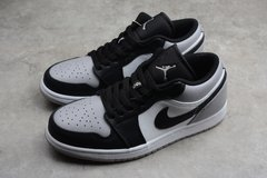 Tênis Air Jordan 1 Low White Atmosphere-Black