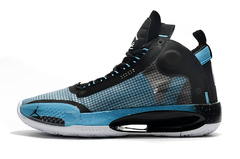 Tênis Air Jordan 34 Black Blue White