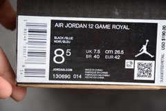 Tênis Air Jordan 12 Retro AJ12 Game Royal - loja online