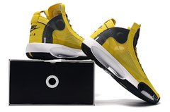 Tênis Air Jordan 34 XXXIV Yellow Grey-White - loja online