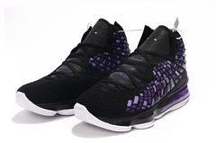Nike LeBron 17 'Black Purple' - Rocha Madrid Sports