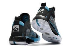 Tênis Air Jordan 34 Black Blue White - Rocha Madrid Sports