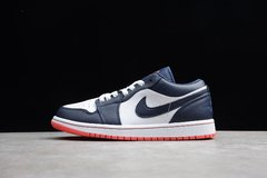 Tênis Air Jordan 1 Low ObsidianEmber