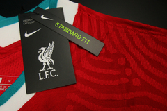 Liverpool - Home - Authentic - Sem Patchs - 2020/21 - Rocha Madrid Sports