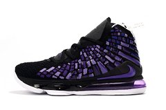 Nike LeBron 17 'Black Purple'
