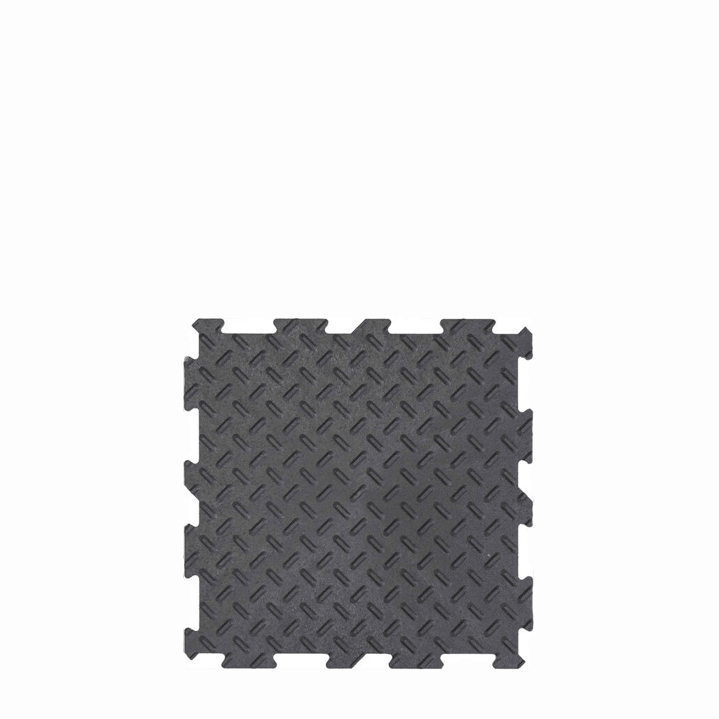 PISO DE GOMA Multy Home ALPHA TILE - DIAMOND PLATE