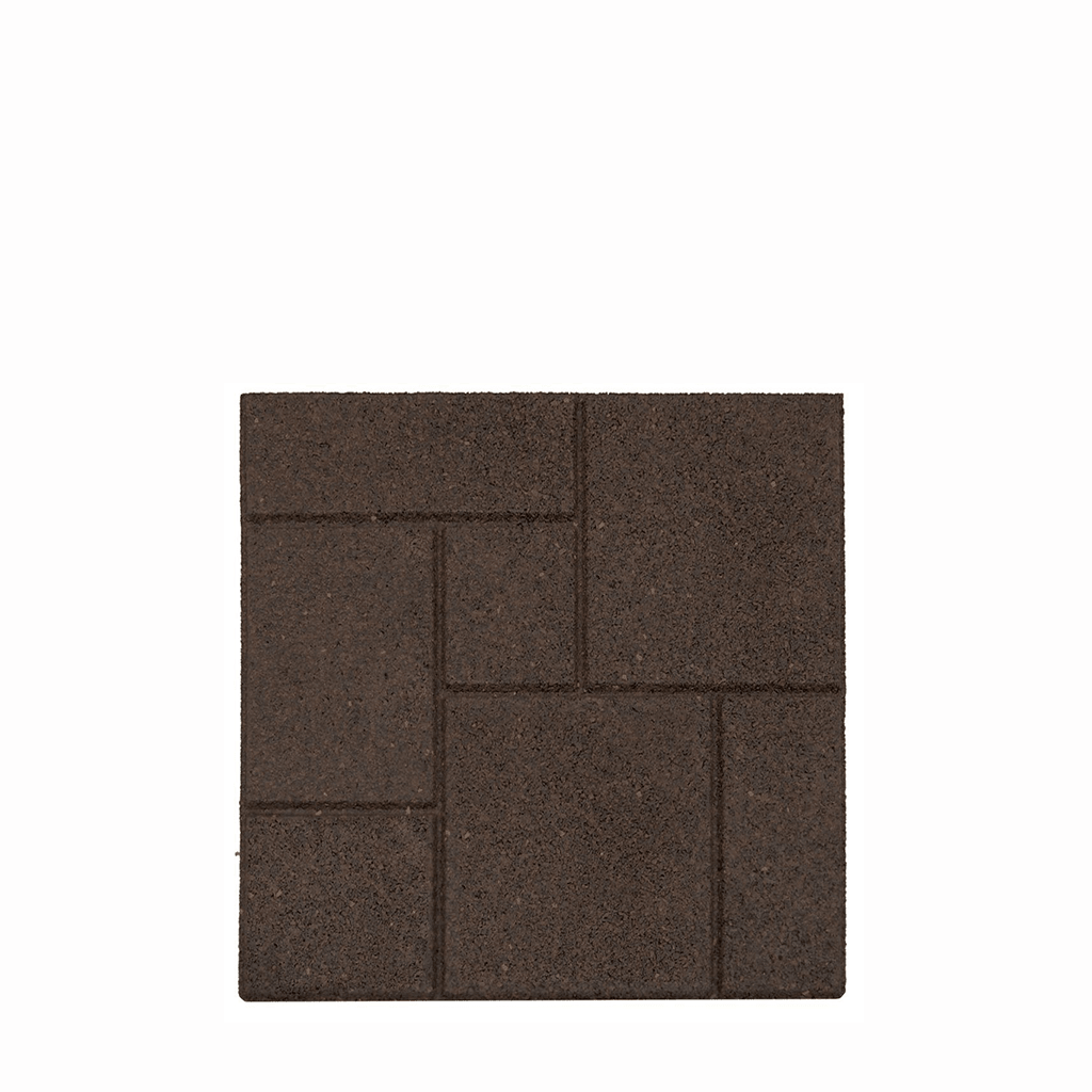 PISO DE GOMA Multy Home ENVIROTILE PAVER COBLESTONE EARTH