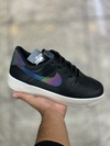 Tênis Nike Air Force Preto Lilás