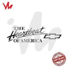 Adesivo The Heartbeat of America - comprar online