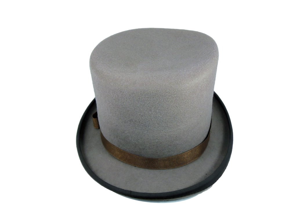 Galera (sombrero De Copa)fieltro De Lana De Vicuña. Talle  M 1f74625c8cb