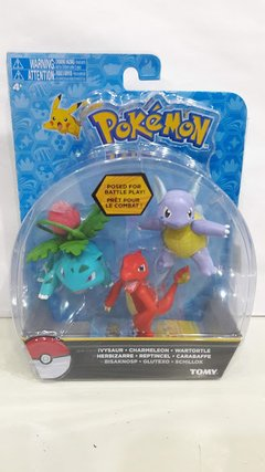 Pokemon Fig Individual x 3