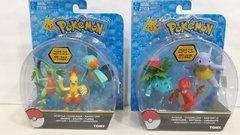 Pokemon Fig Individual x 3 en internet