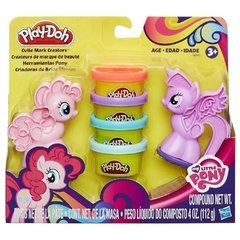 Play Doh Pony x 2.