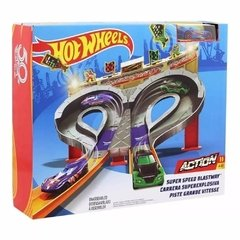 Pista Hot Wheels Super Blastwa