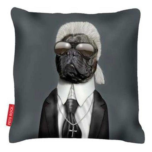 Capa de Almofada Pet's Fashion Karl Lagerfeld