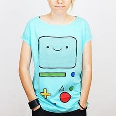 Camiseta Feminina Beemo - Adventure Time