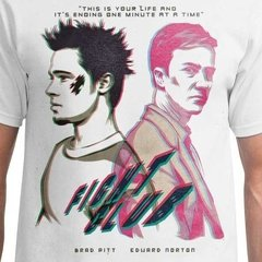 Camiseta Masculina Fight Club - Clube da Luta