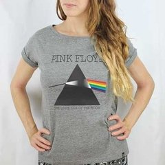 Camiseta Feminina Dark Side of The Moon - Pink Floyd