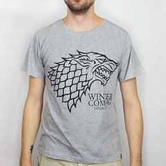 Camiseta Masculina House Stark - Game of Thrones