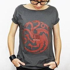 Camiseta Feminina House Targaryen - Game of Thrones