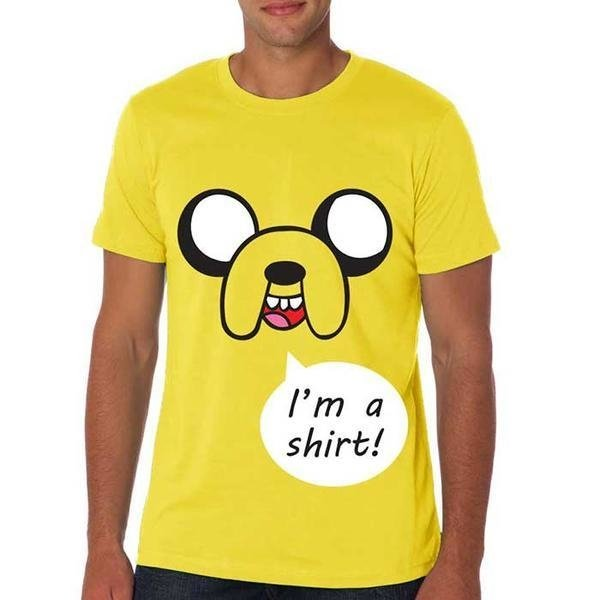 Camiseta Masculina Jake T-shirt - Hora de Aventura/Adventure Time