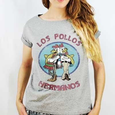 Camiseta Feminina Los Pollos Hermanos - Breaking Bad