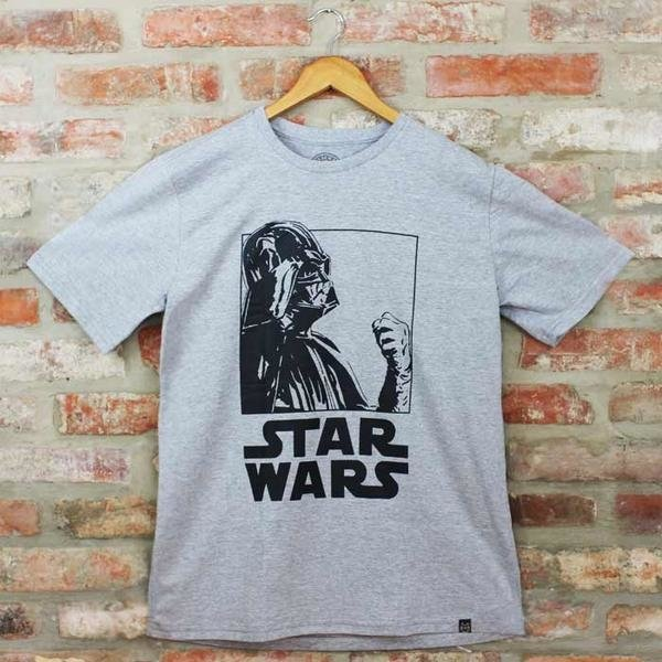 Camiseta Masculina Darth Vader PB - Star Wars - Blackat Store