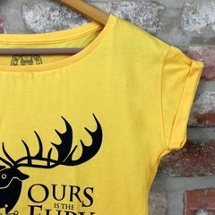 Camiseta Feminina House Baratheon - Game of Thrones - comprar online