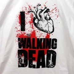 Camiseta Masculina I Love WD - The Walking Dead - comprar online