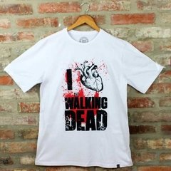 Camiseta Masculina I Love WD - The Walking Dead - Blackat Store