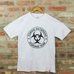 Camiseta Masculina Zombie Outbreak - The Walking Dead na internet
