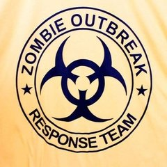 Camiseta Masculina Zombie Outbreak - The Walking Dead - comprar online