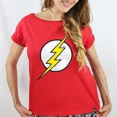 Camiseta Feminina Flash