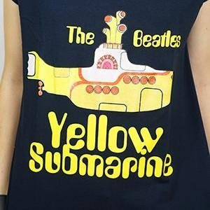 Camiseta Feminina Yellow Submarine - The Beatles - comprar online