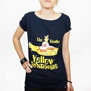 Camiseta Feminina Yellow Submarine - The Beatles na internet