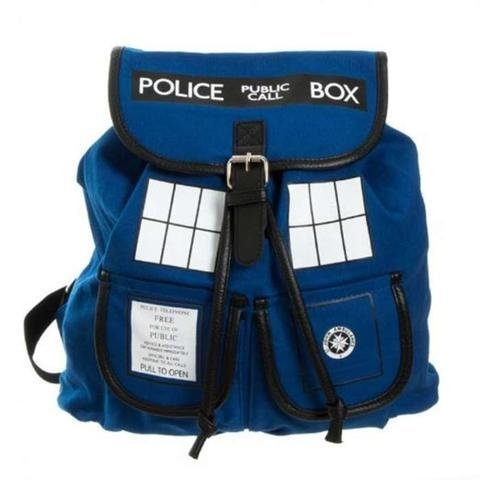 Mochila Tardis Police Box - Doctor Who na internet