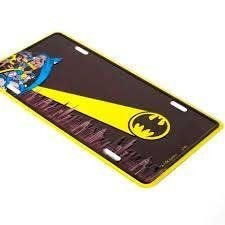 Placa de Metal Decorativa Batman Dc Comics - comprar online