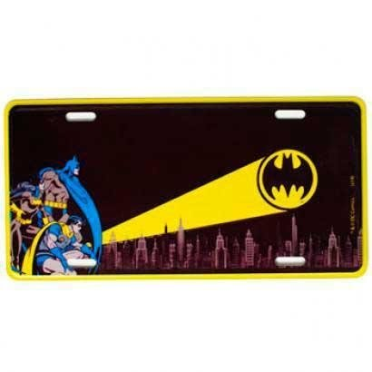 Placa de Metal Decorativa Batman Dc Comics