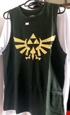Regata Triforce - The Legend of Zelda