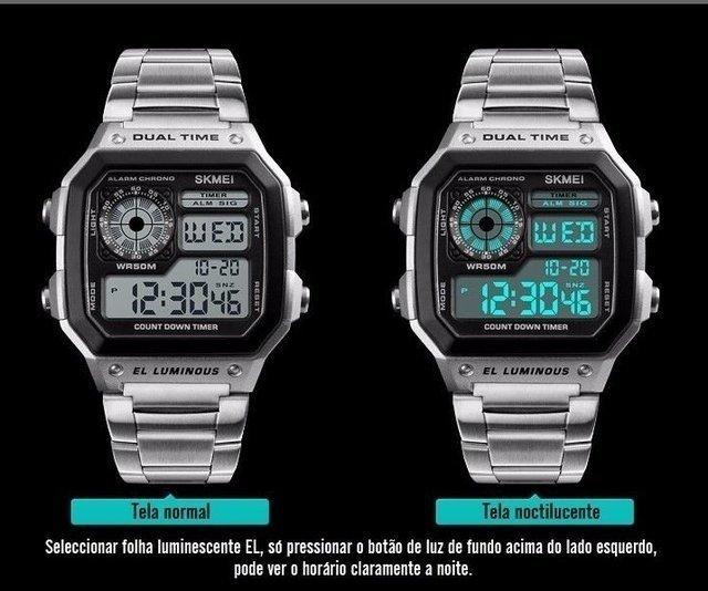7b7e7c6cb40 ... Relógio Skmei Vintage Digital - loja online ...