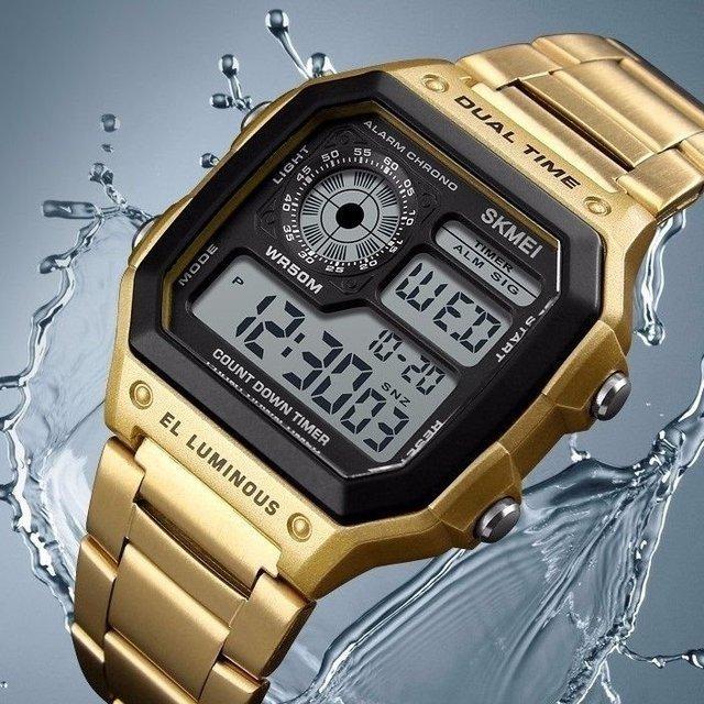 7c87e4a8e57 ... Relógio Skmei Vintage Digital - comprar online