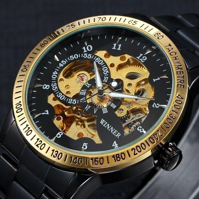 105573cb2b7 Relógio Winner Automático Tachymetre