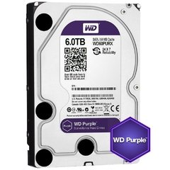 "DISCO RIGIDO 3.5"" 6Tb Western Digital Purple"