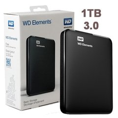DISCO EXTERNO 1Tb USB 3.0 WD Western Digital Elements - comprar online